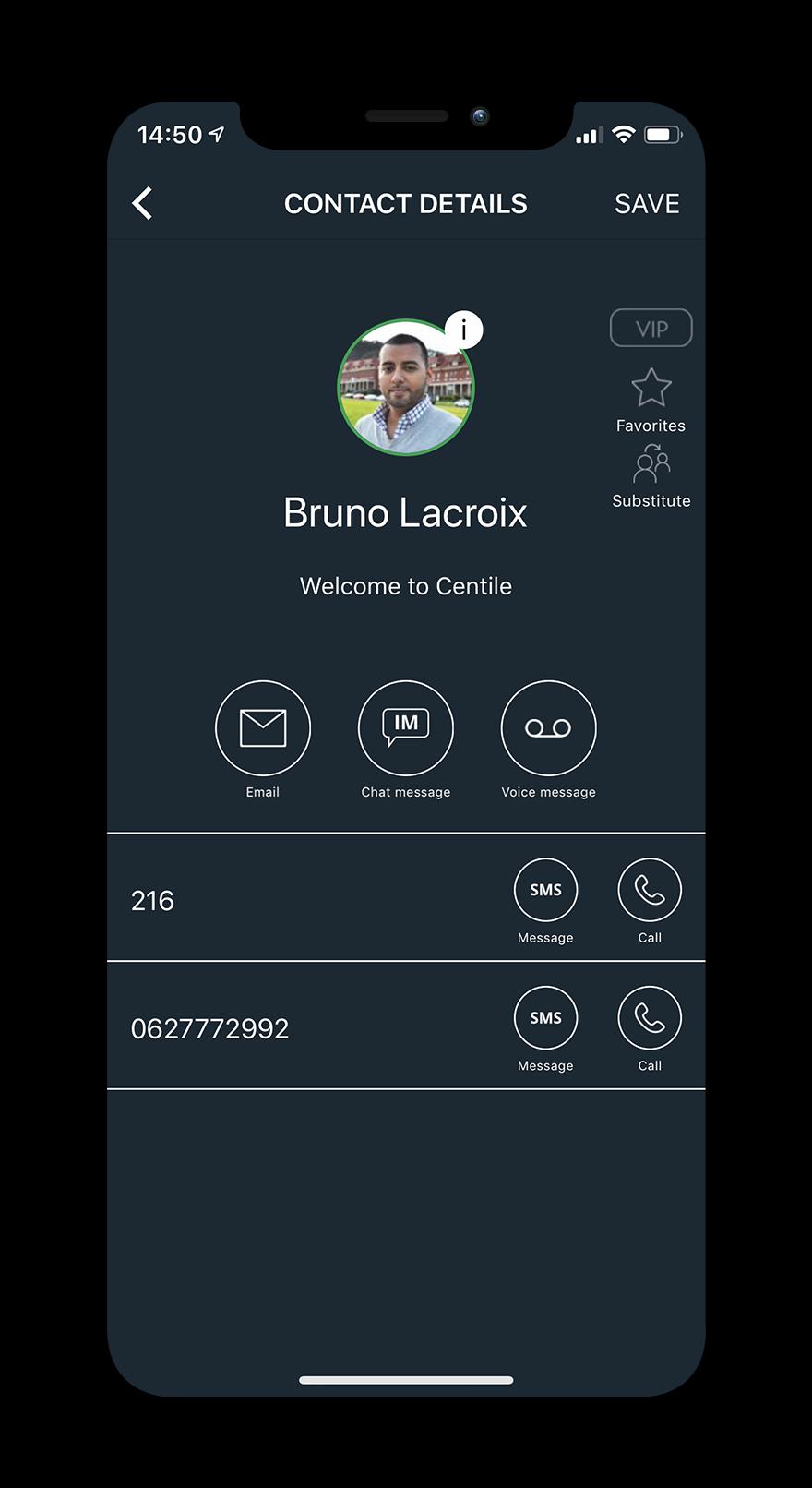 Mobility - Centile Telecom Application
